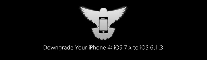 How To Downgrade iOS 7 To iOS 6 1 3 On iPhone 4 Using iFaith