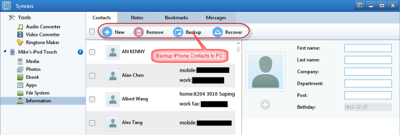 how to delete all contacts on iphone without icloud