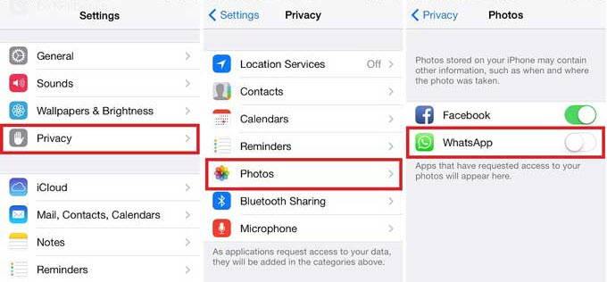 How to stop whatsapp saving photos and videos to camera roll on hitherto ccuart Image collections