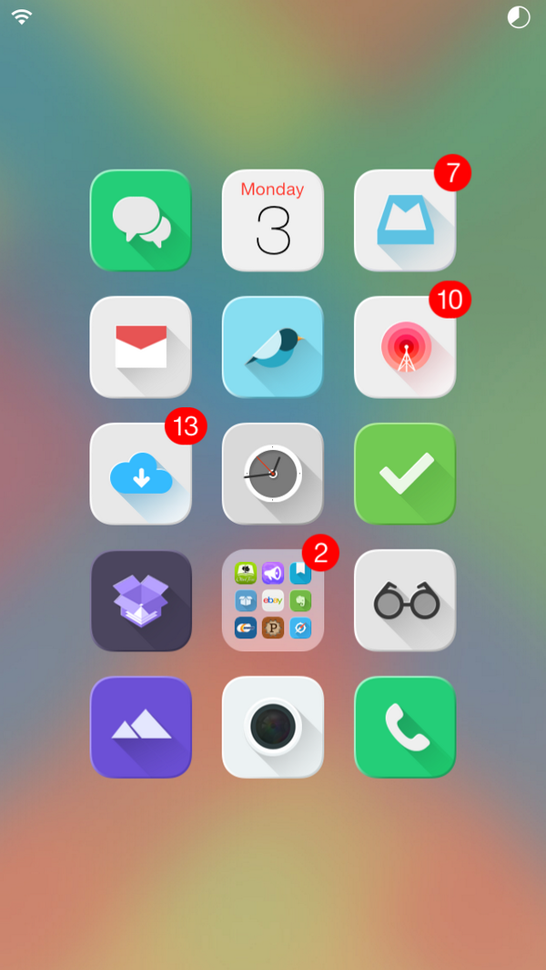 Ios 7 Jailbreak Themes New Ios 7 Cydia Winterboard Jailbreak Themes For Iphone Ipad And Ipod Syncios Blog