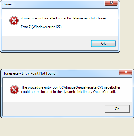 Do You Have Problems With Itunes Install Error 7 Windows