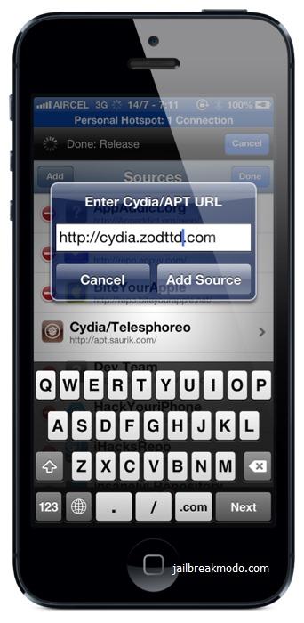 Cydia repository ios 7
