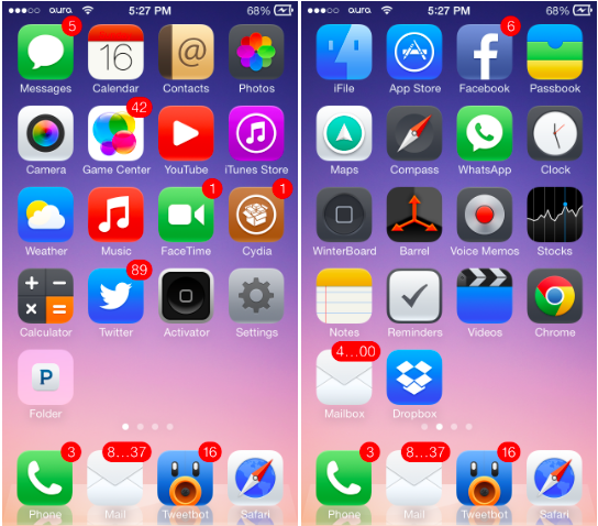 The 12 Best iOS 7 Themes for iPhone - Syncios Manager for iOS & Android