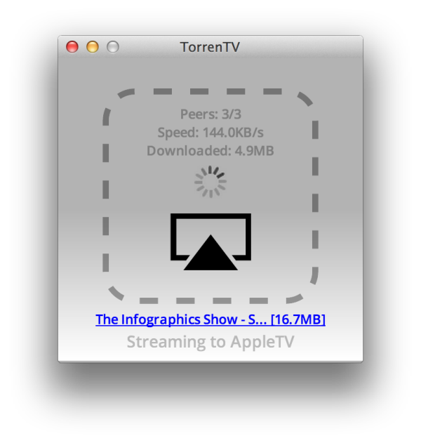 Stream Movie and Video Torrents to the Apple TV