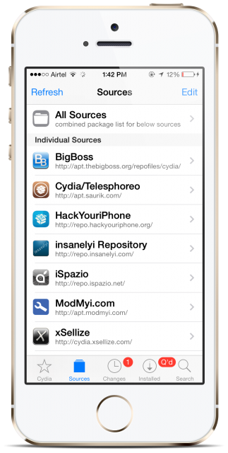 How to Add BigBoss Repo Source on Cydia Once Deleted - Syncios