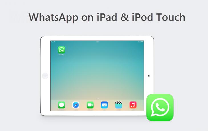 whatsapp on iPad iPod iOS 7