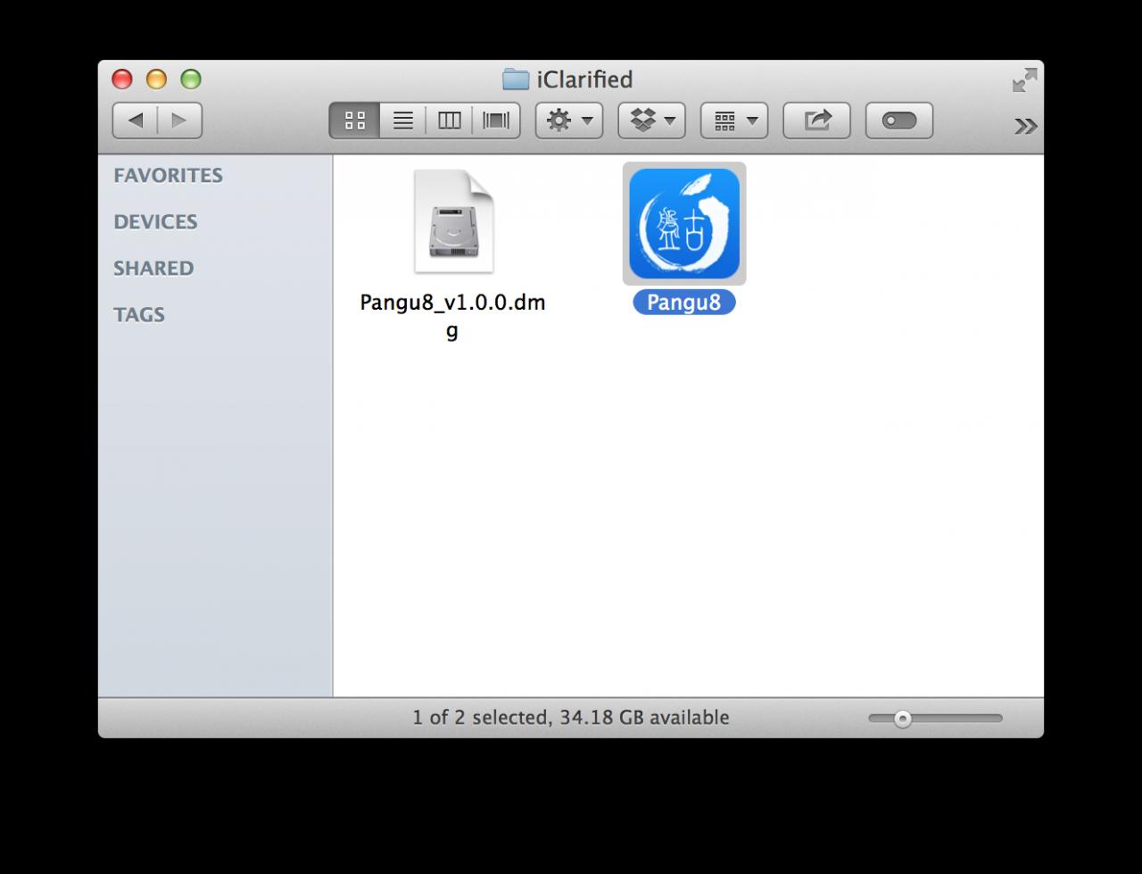 iClarified folder