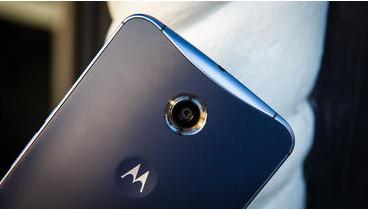 The Nexus 6's dimple