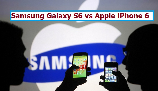 Samsung Galaxy 6 vs iPhone 6