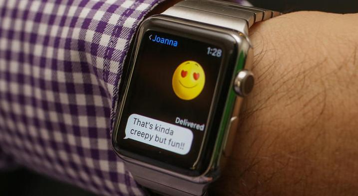 apple watch message