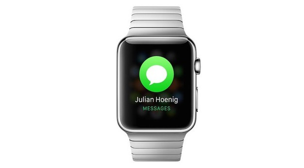 Apple Watch text messages