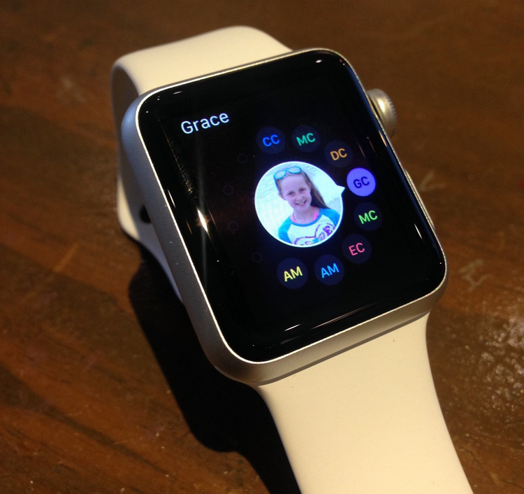 send a new text on Apple Watch