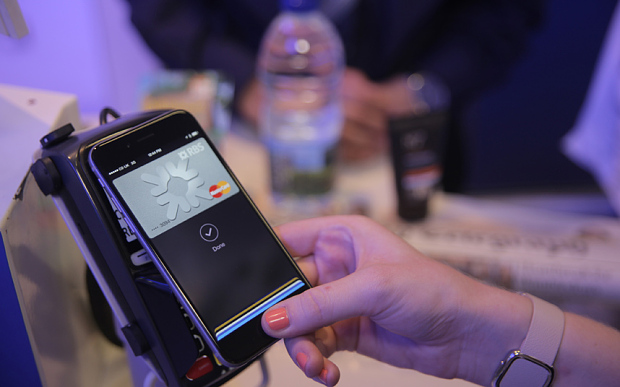 Paying for goods in Boots via Apple Pay