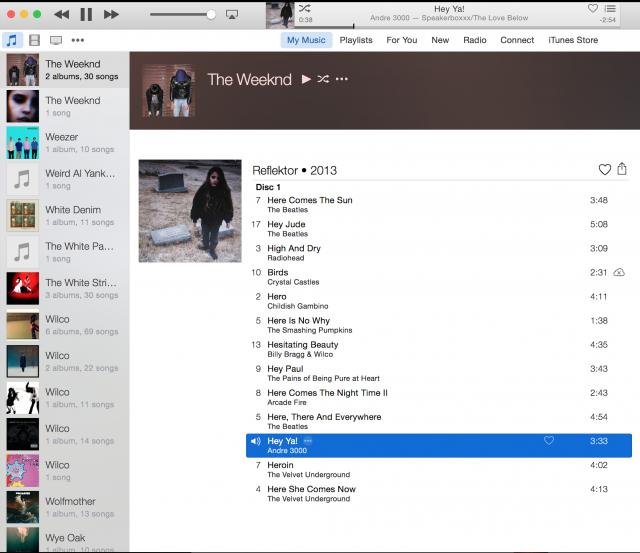 iTunes 12.2 bug