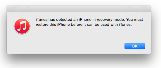downgrade iPhone