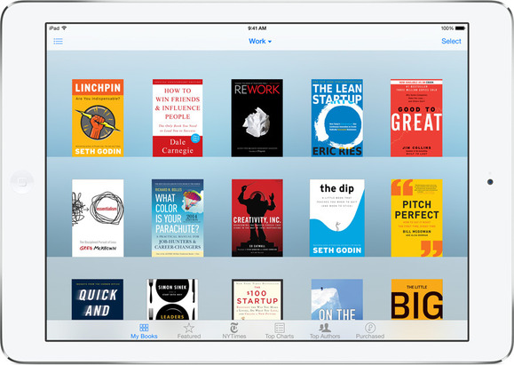 iBooks on iOS 8