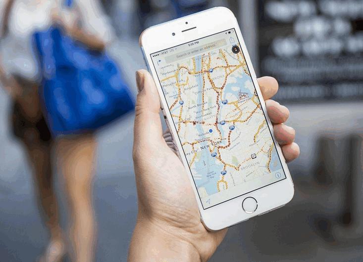 map on iOS 9