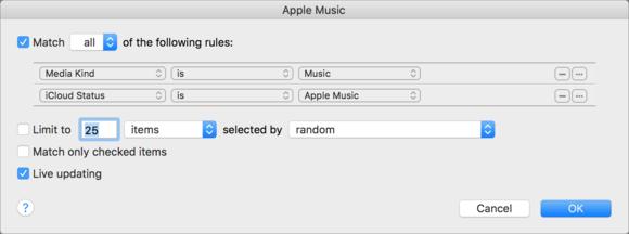 Apple music track