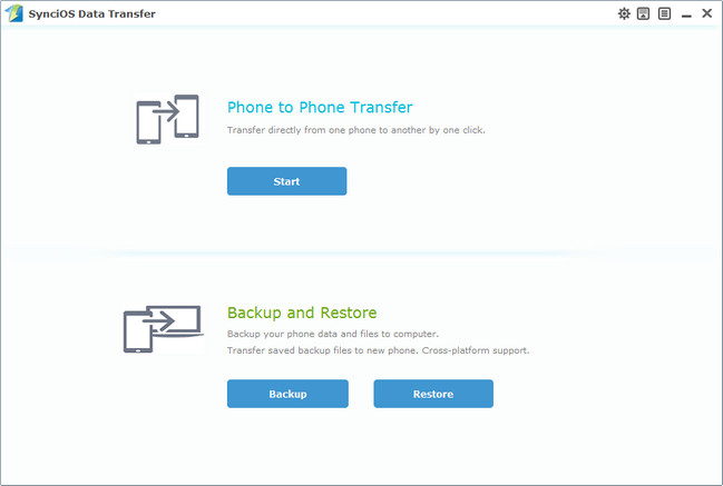 data transfer home