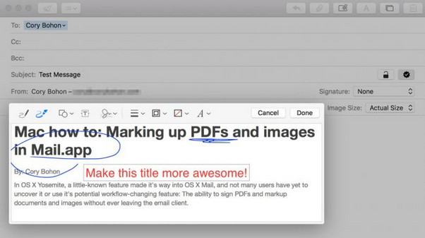markup pdf with apple pencil