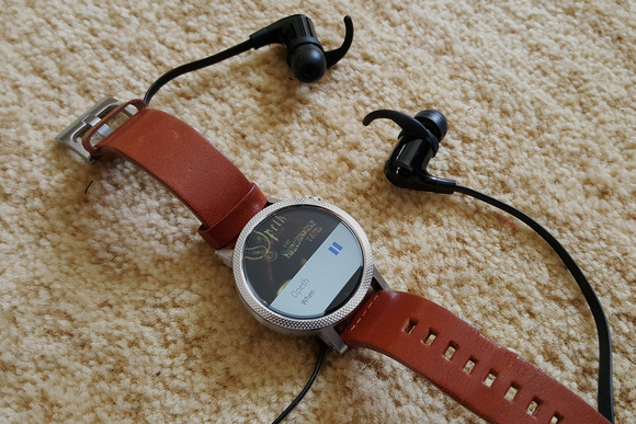 sync and play music on Android watch