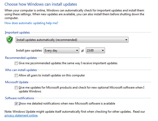 prevent automatically update