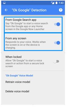 google detection