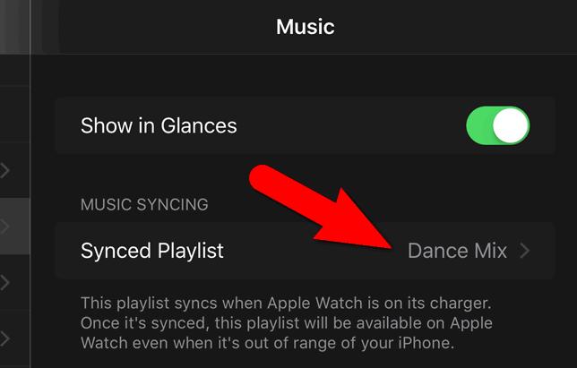 sync playlist