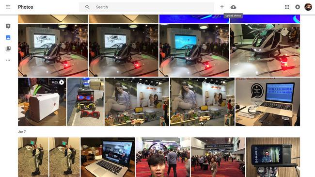 google photos web