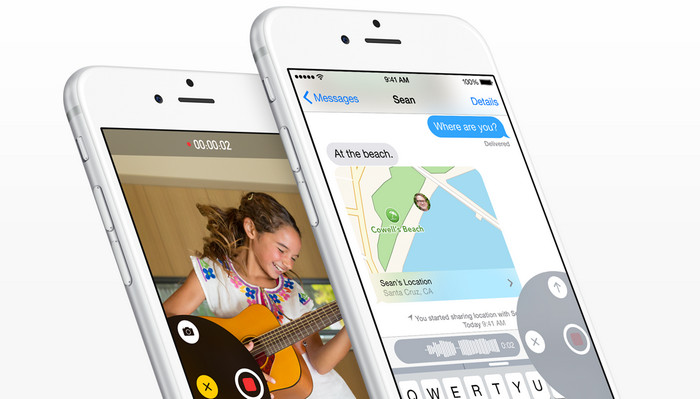 ios 9 messages app