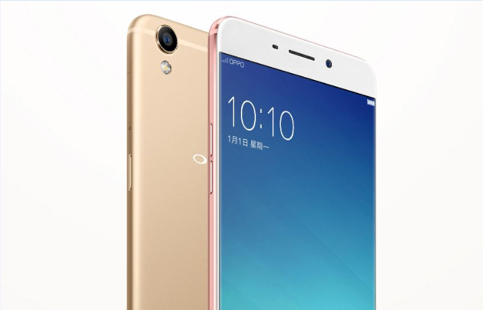 oppo r9 front cameras