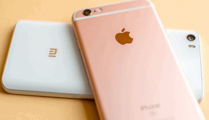 xiao mi 5 compares with iphone 6s