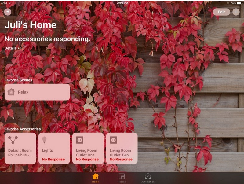 home app ios10