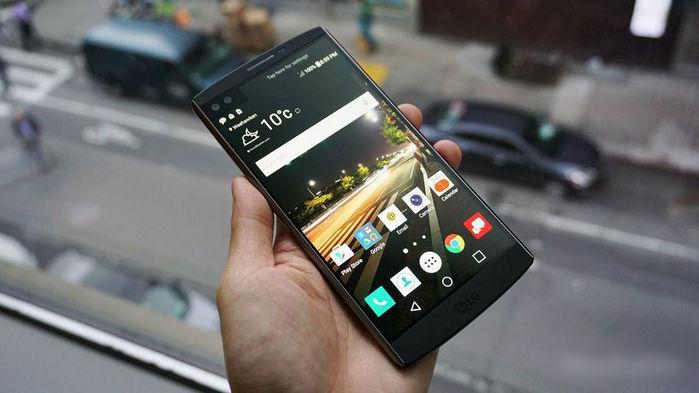 LG's V10
