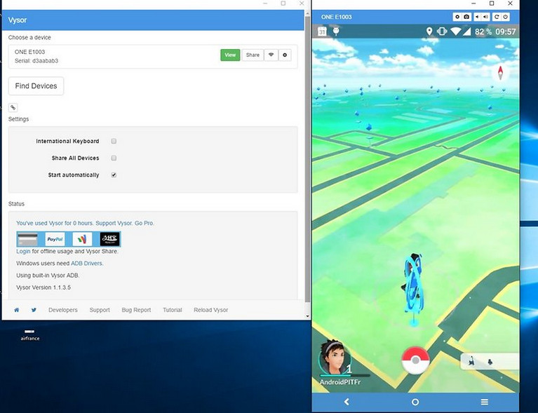 pokemon go on pc