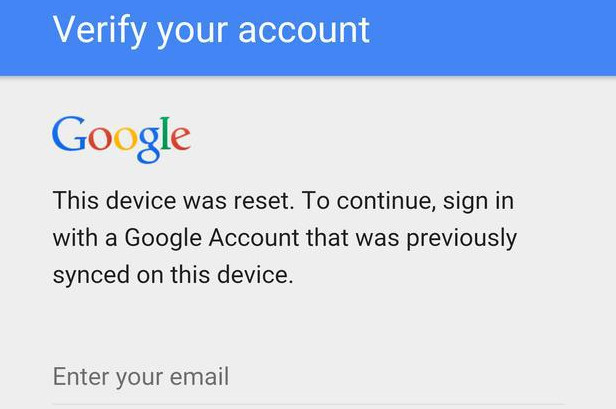 """How to bypass Google """"Verify your account"""" on Android"""