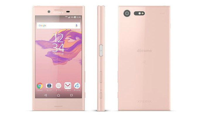 xperia x compact pink