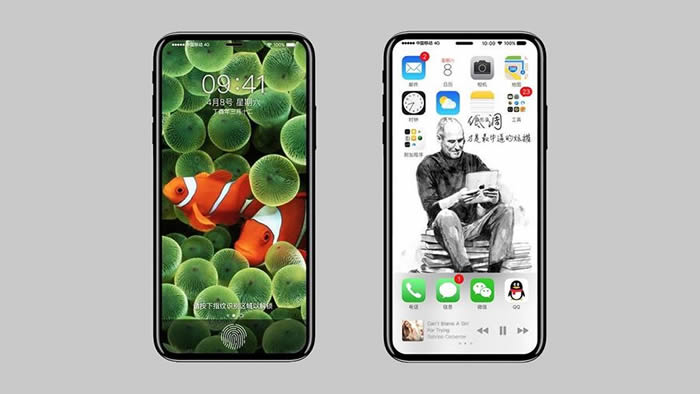 iPhone8 screen