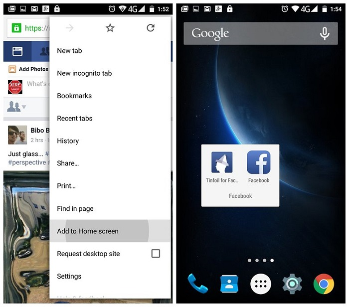 androidpit-tinfoil-for-facebook-chrome-shortcut-w782