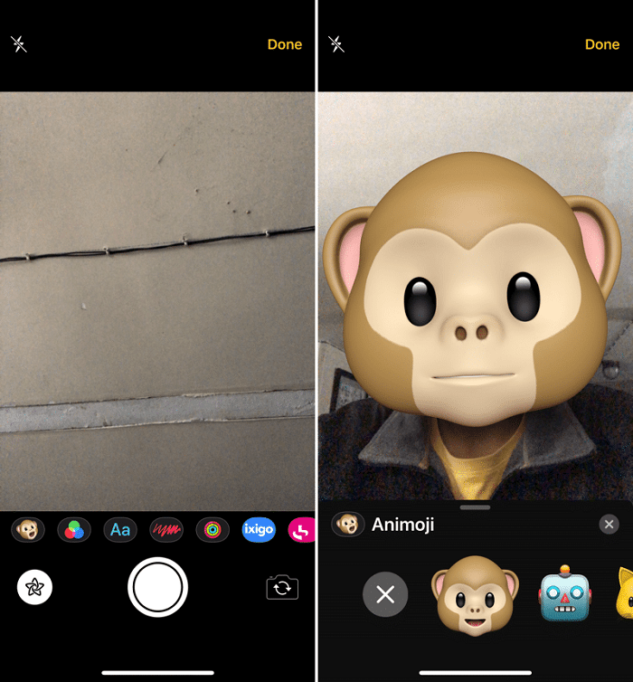 share animoji with any app on iPhone