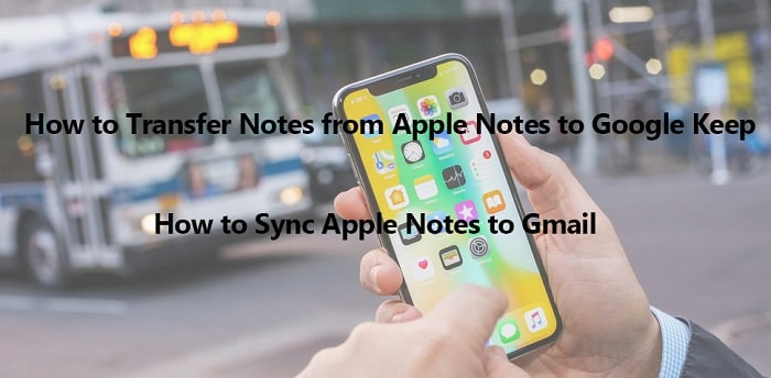 open notes on iPhone X