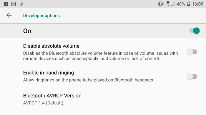 Ringtone with Bluetooth headphones