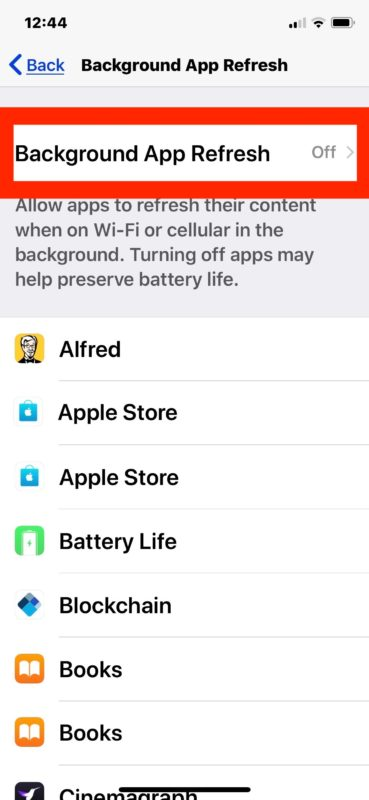 How to Disable Background App Refresh on iPhone & iPad