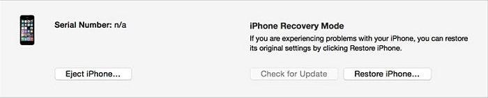 Downgrade iOS 13