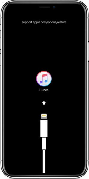 Enter Recovery Mode on iPhone XR