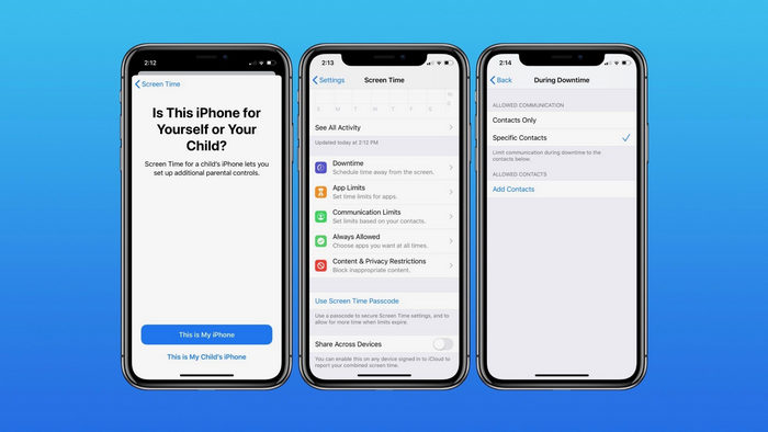 How to set iPhone Communication Limits for your kid with Screen Time