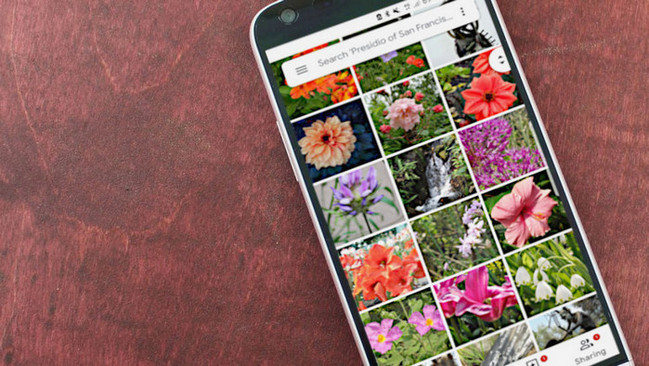 How to upload to Google Photos