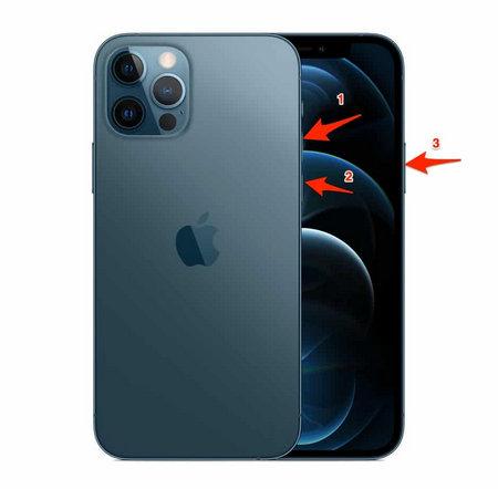 iphone 12 pro hard reset