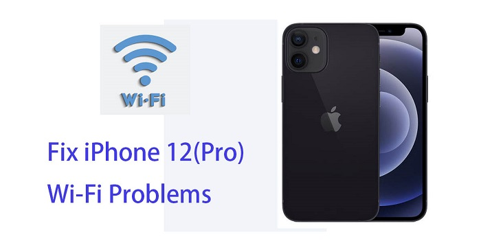 fix iPhone 12 wifi problem